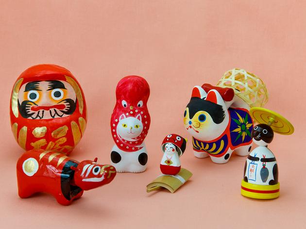 東京、郷土玩具に出会える店