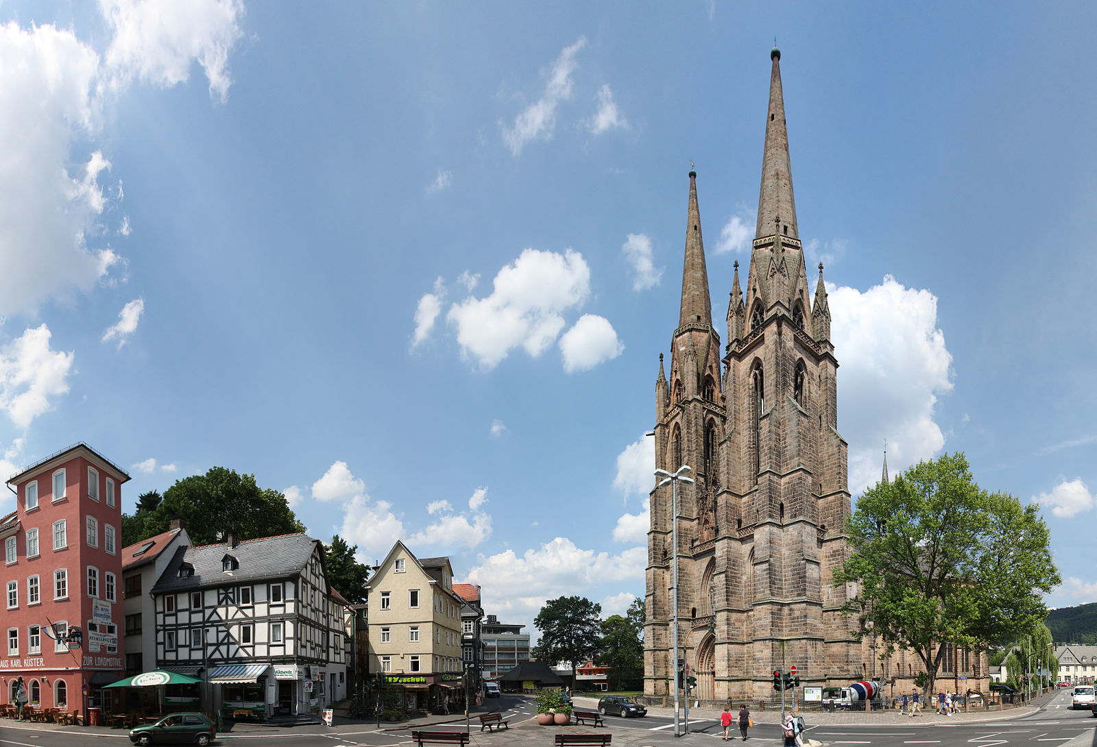 St. Elizabeth church, Marburg