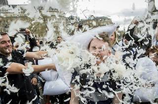 Pillow Fight Day Madrid 2018