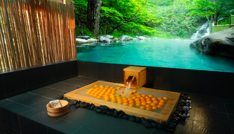 Zen out at Ikeda Spa