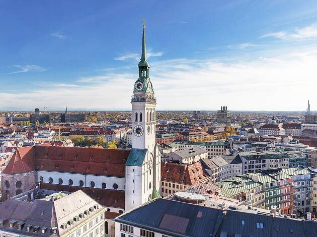 The most beautiful buildings in Munich