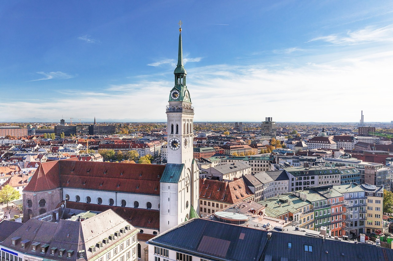 The 10 most beautiful buildings in Munich