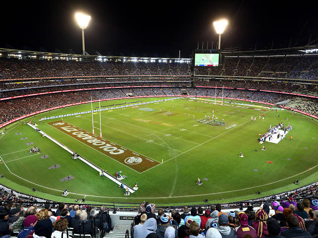 2018 Holden State of Origin opening game