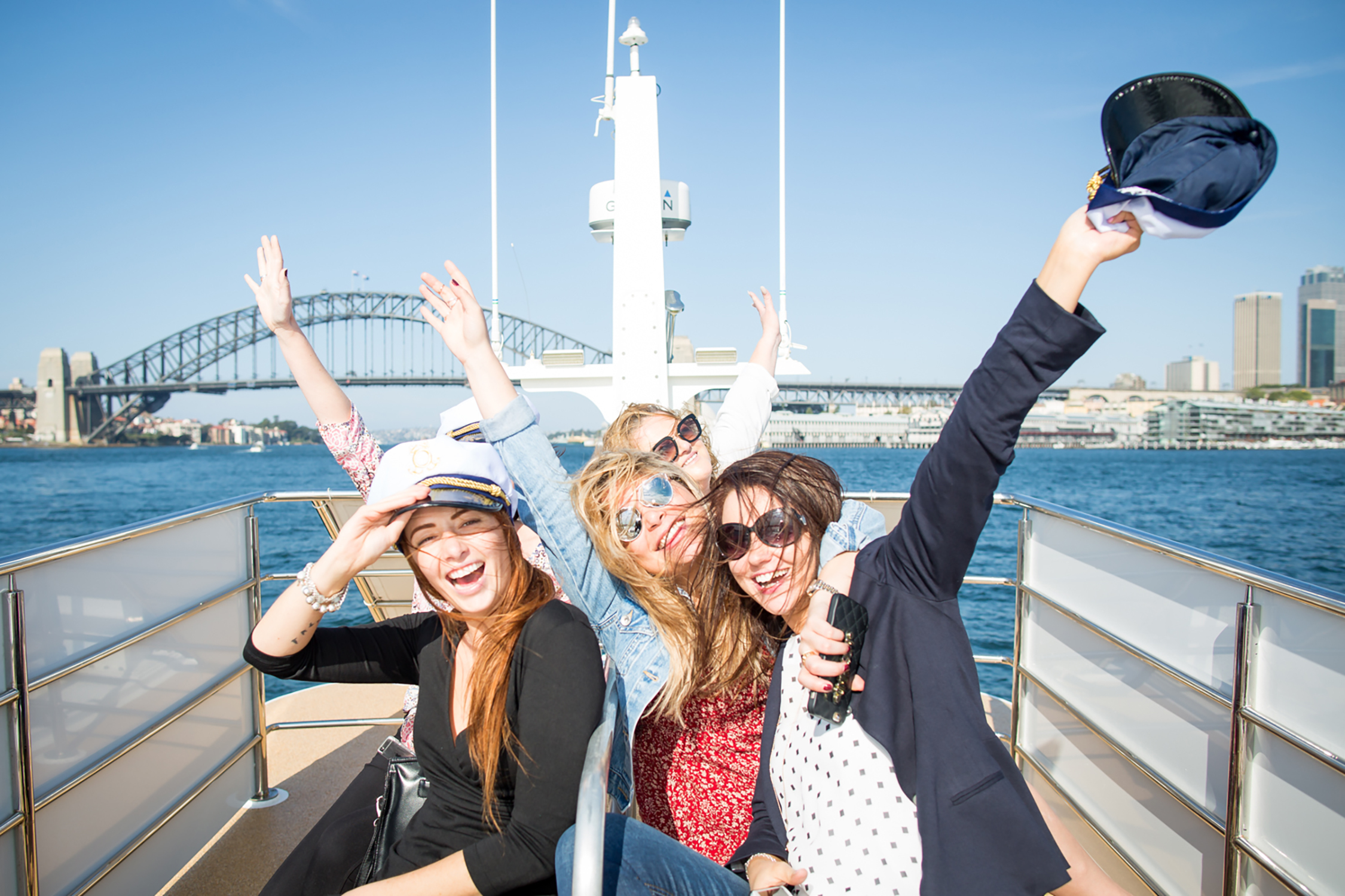 Spend a day cruising the harbour and shopping at Sydney's best outlet centre