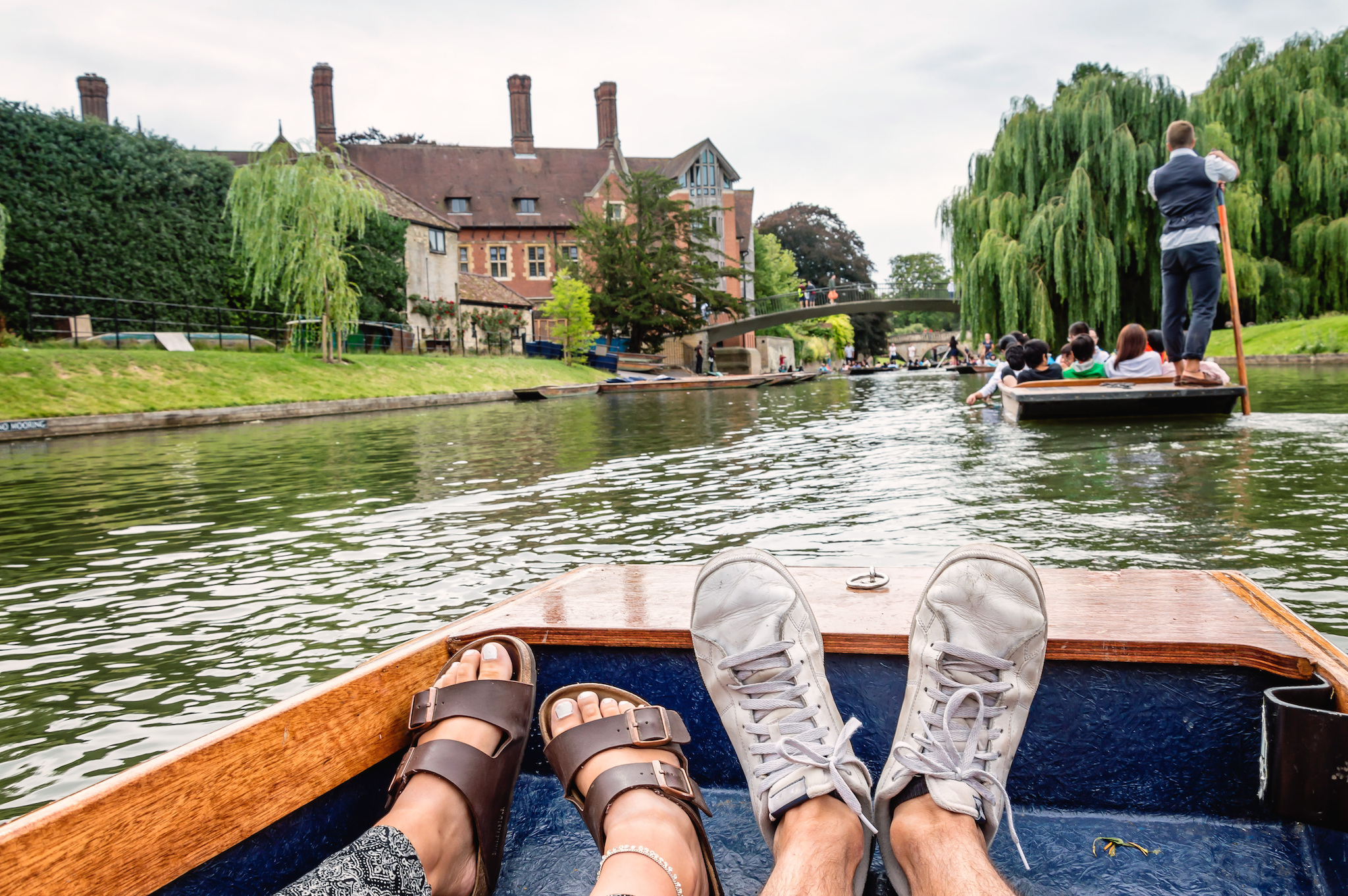 Punting, River Cam, Cambridge