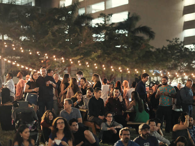 Brickell City Centre Biergarten