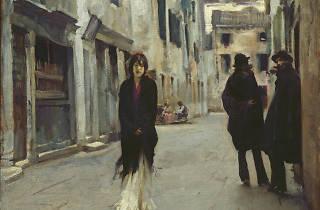 John Singer Sargent, Street in Venice, American