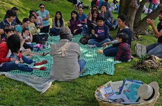 Picnic literario (Foto: Cortesía Secretaría de Cultura/Francisco Segura)