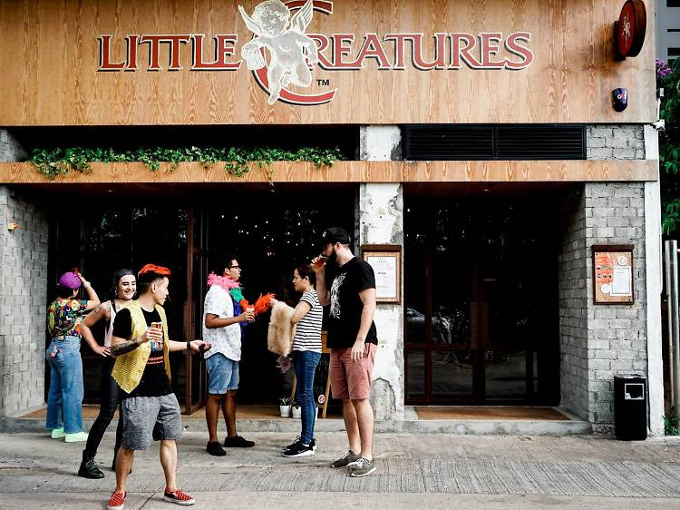 Chill out with a view at Little Creatures