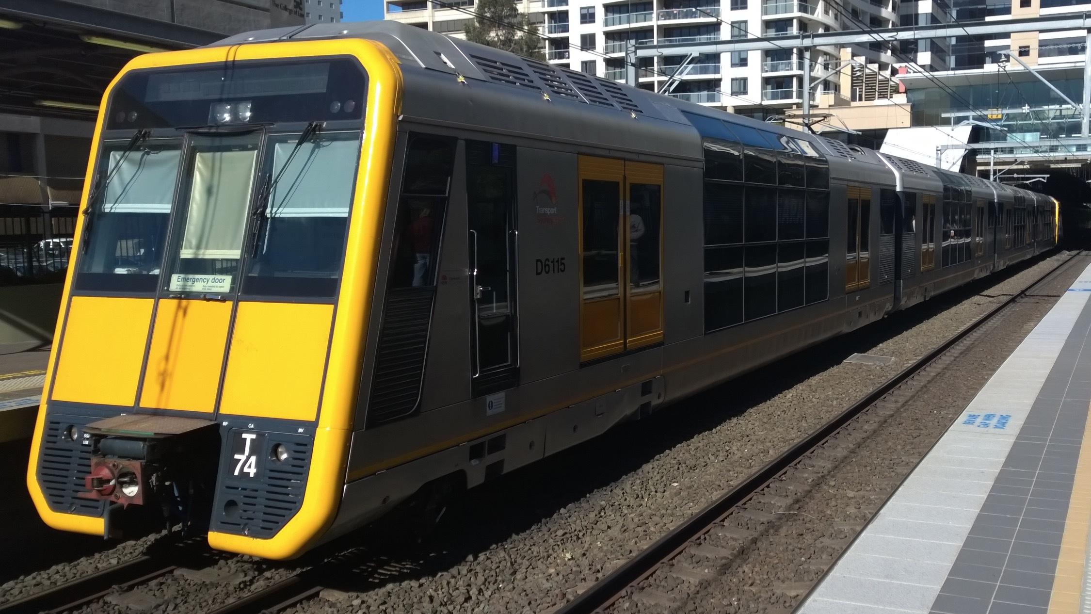 Inner City Sydney Train