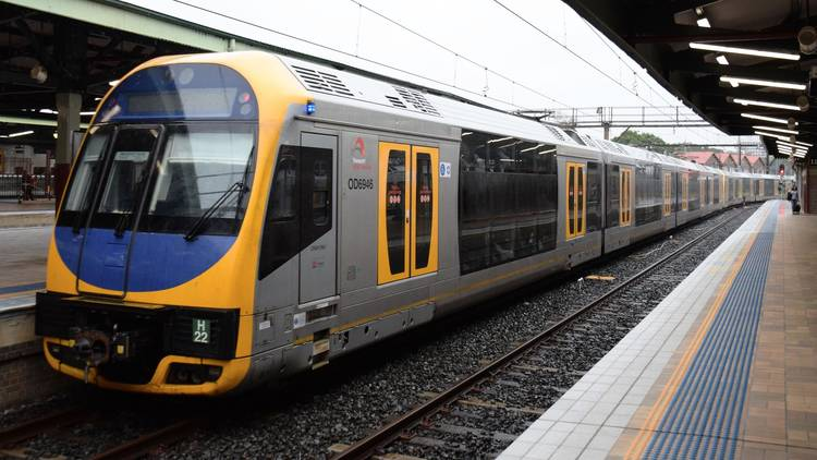 Suburban Sydney Train