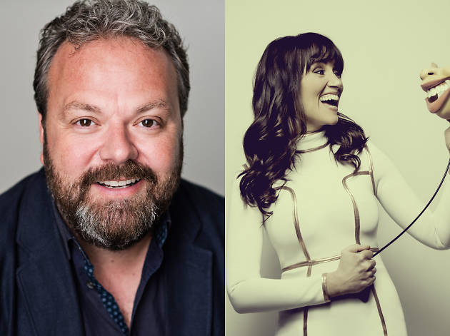 Plosive Comedy in Dulwich with Hal Cruttenden and Nina Conti