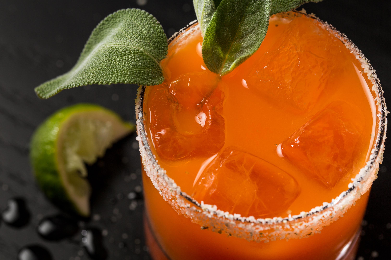 Carrot Margarita at Clever Rabbit