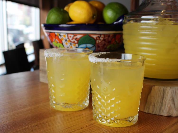 Top Shelf Margarita at Dos Urban Cantina