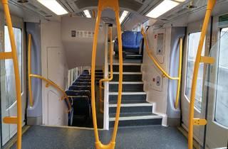Inside Sydney Train