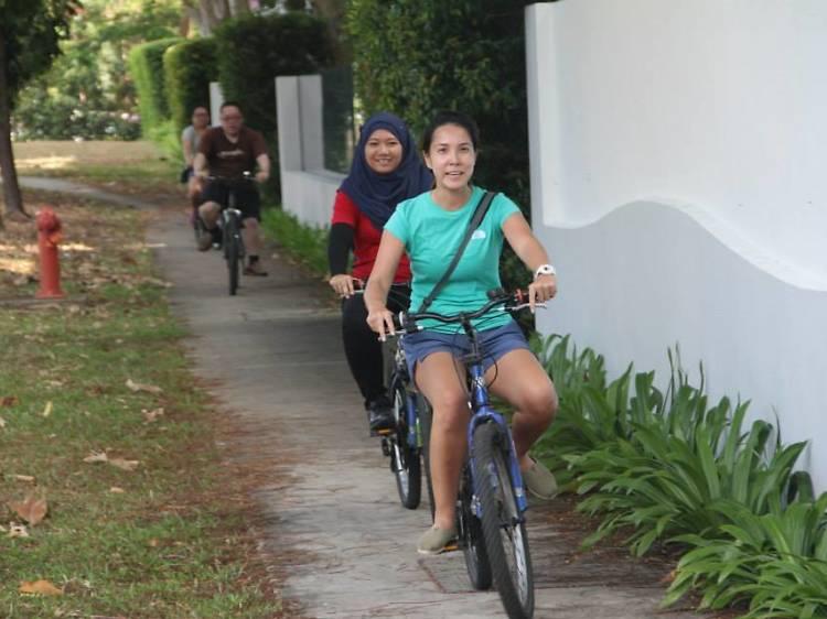 Biking Singapore