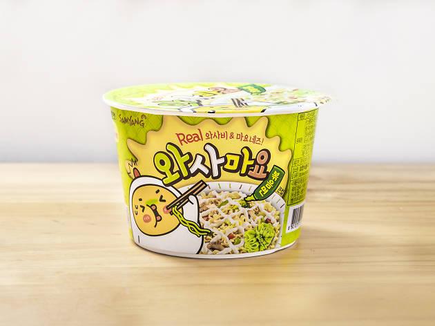 Samyang wasabi mayo stir noodles