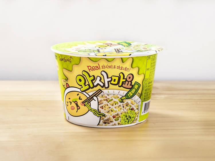 韓國芥末蛋黃醬撈麵 ︰味道單調
