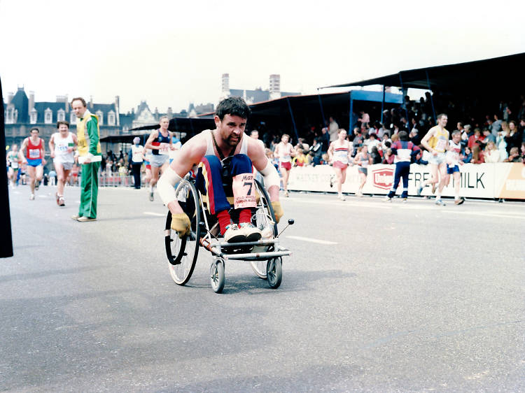The campaigner who fought to include wheelchairs in the London Marathon