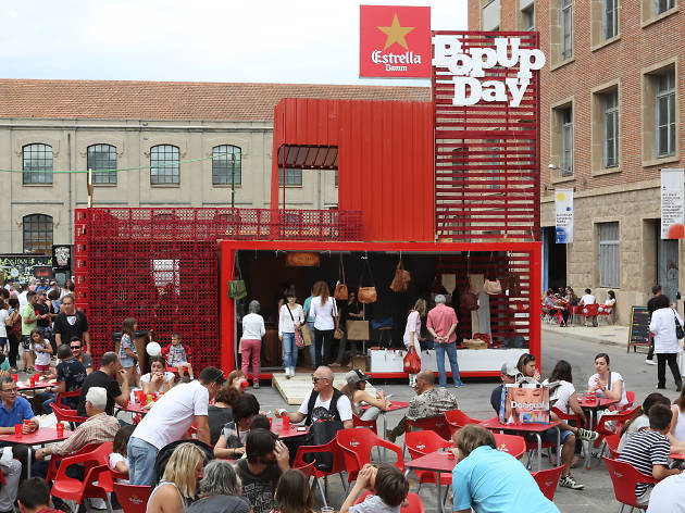 El REC Pop Up Day Estrella Damm, el disseny independent