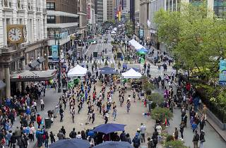 30 blocks of Broadway will be car-free later this month