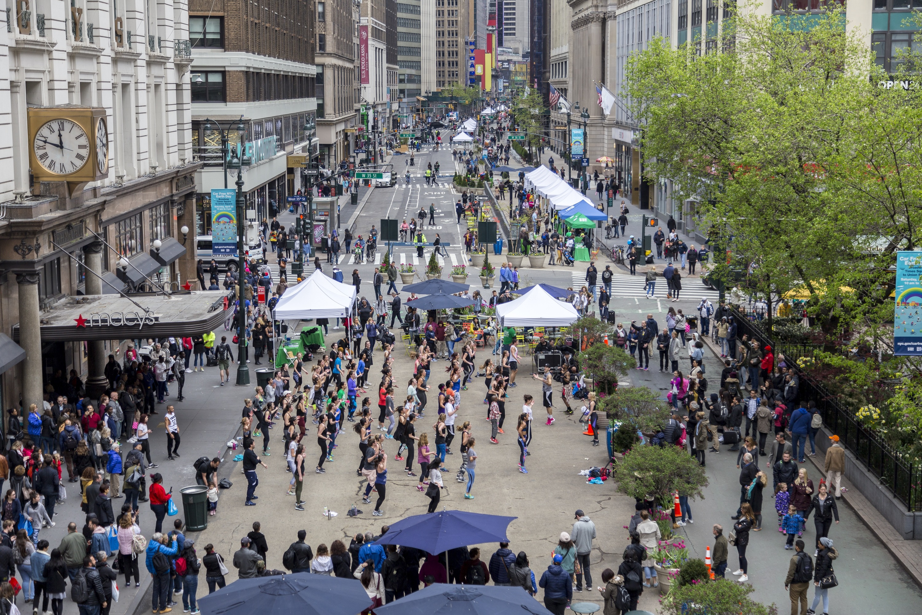 NYC DOT's Car-free Streets Day