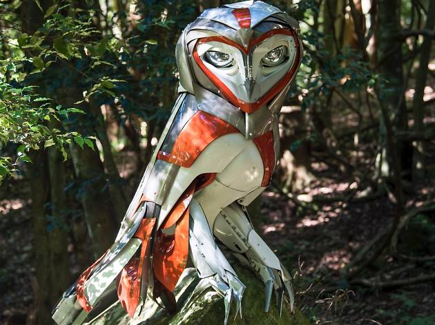 Sculpture at Scenic World 2018 supplied image Cass Hannagan 2018 credit Nick Warfield