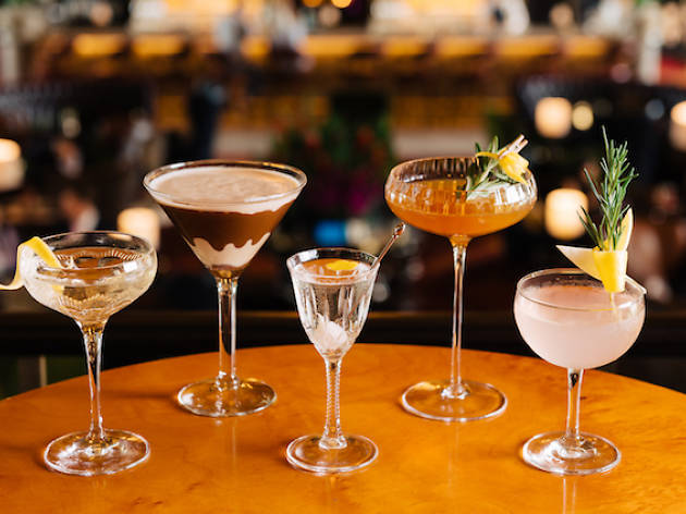 The best martinis in Singapore