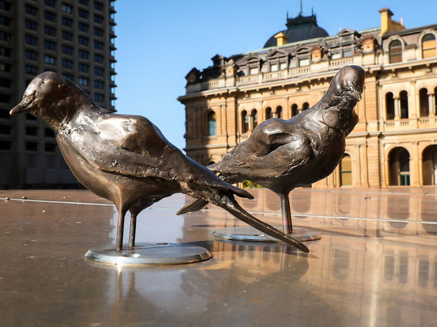 The Distance of your Heart - Tracey Emin 2018 - public art - Photo credit: Katherine Griffiths