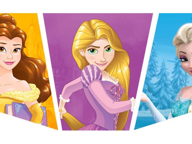 El gran evento: diversión con Disney Princesa y Frozen
