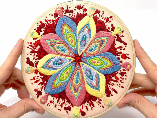 Vagestic Mandala Embroidery Workshop