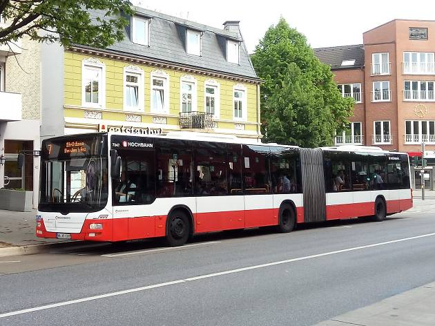 Bus in Hamburg