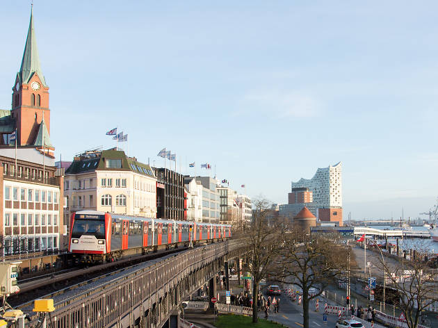 Public transportation in Hamburg