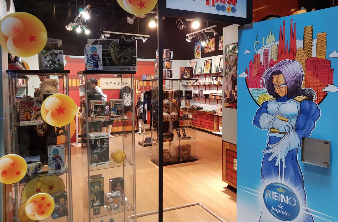 Barcelona ya tiene la primera tienda de 'Bola de Dragón' del Estado