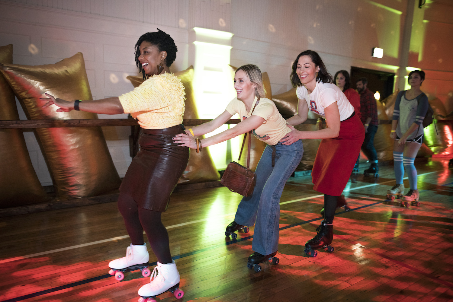 Chicago Athletic Association skate night