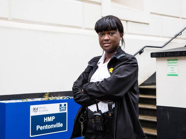 Officer Byfield-Johnson, prison officer at HMP Pentonville