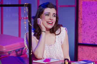 Julia Udine in Andrew Lloyd Webber's stars in Tell Me on a Sunday at Walnut Street Theatre