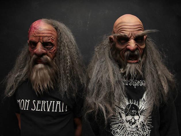 Los viejos, dúo de metal de México