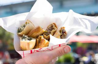 420 Celebration at a Food Truck Park