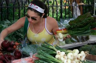 The Fitler Square Farmers Market is open year round on Saturday mornings.