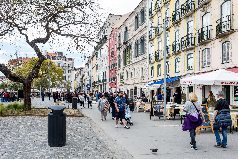 Rua dos Bacalhoeiros Campo das Cebolas