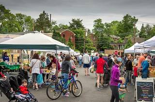 The Swarthmore Farmers Market is open on Saturdays throughout summer.