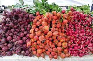 Ambler Farmers Market happens on Saturdays throughout summer.
