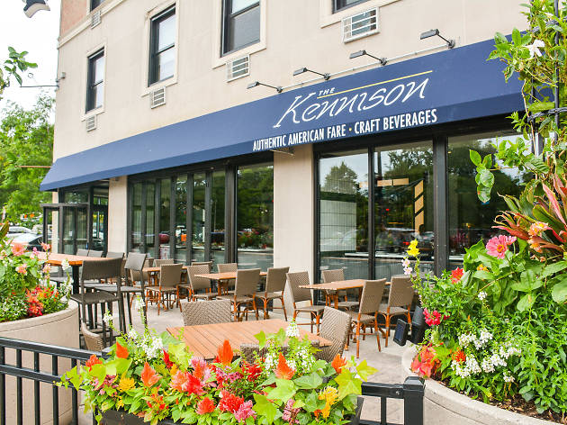 Patio at the Kenninson