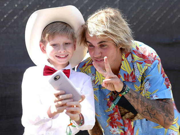 See the celebrities spotted at Coachella 2018, from Justin Bieber to Kylie Jenner