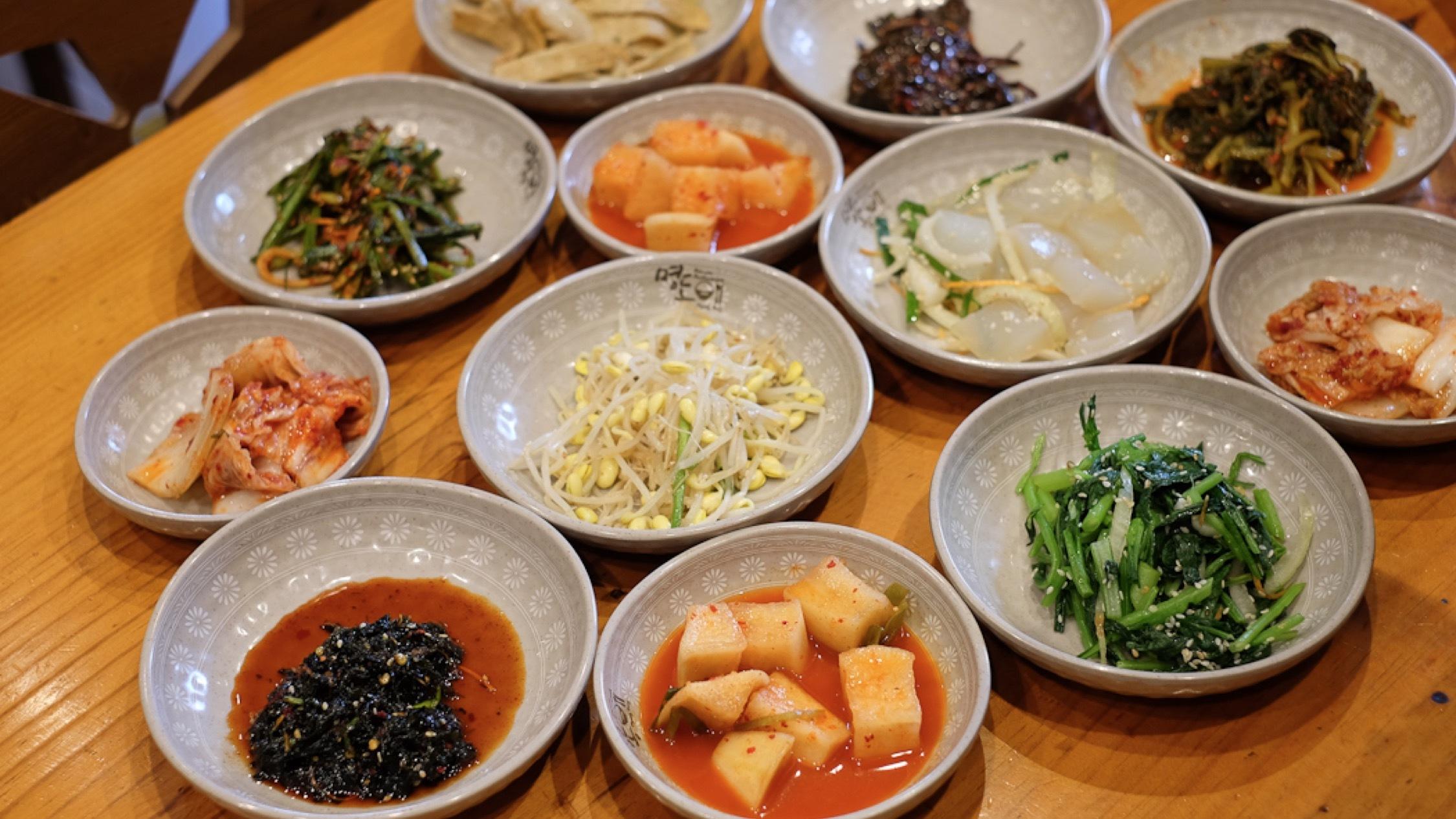 Food at Myeong Dong
