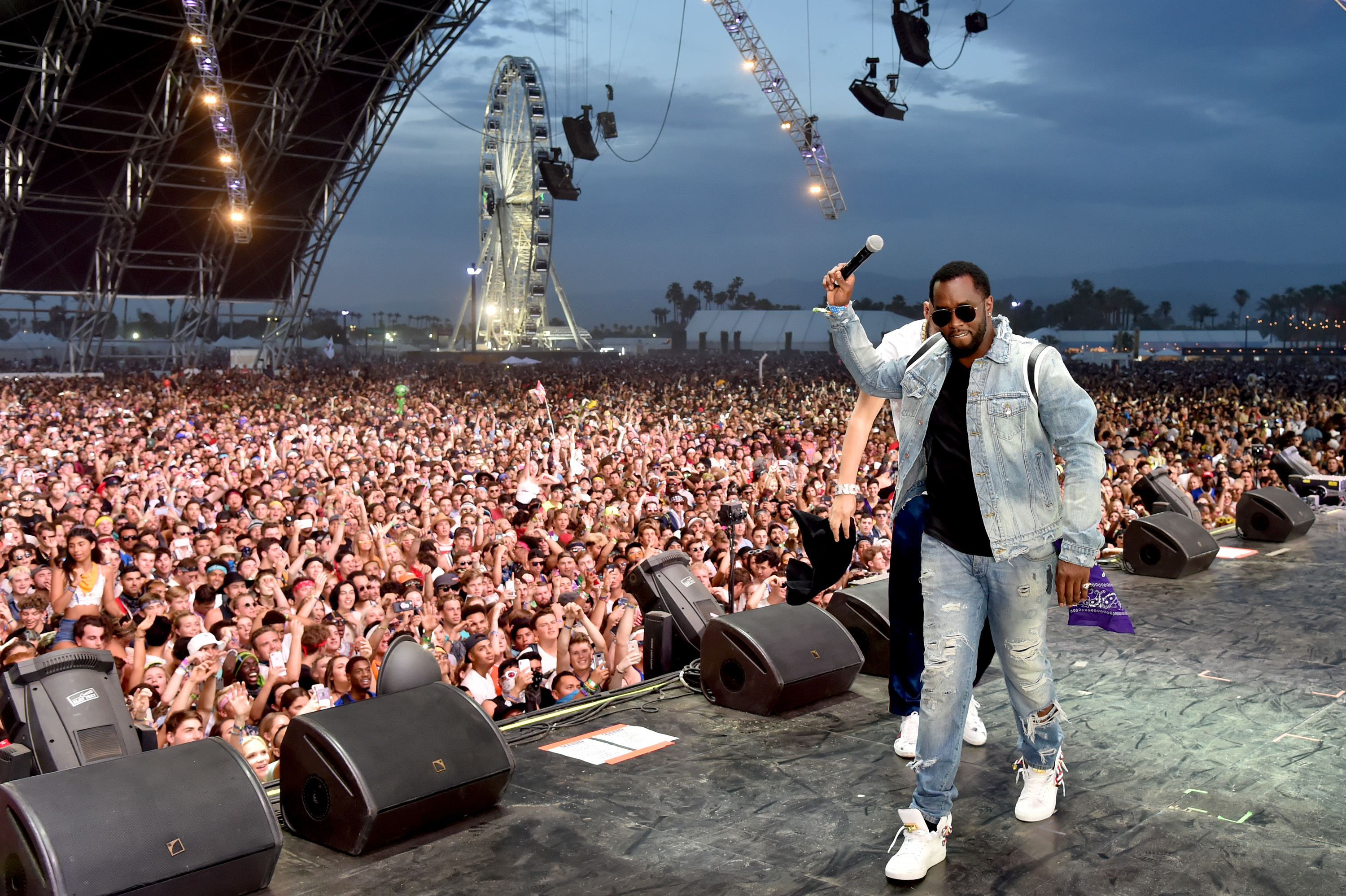 1f82603665 Diddy Photograph: Courtesy Kevin Mazur/Getty Images for Coachella