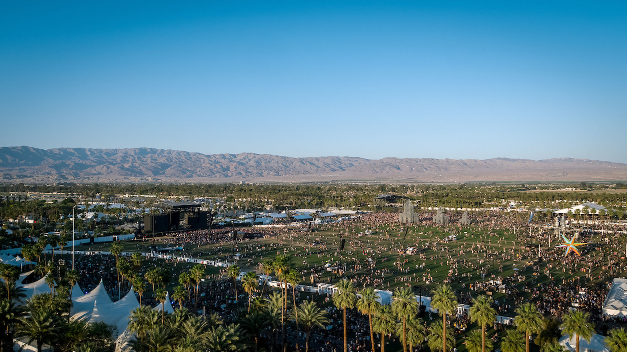 High winds have pushed back Coachella's campgrounds opening