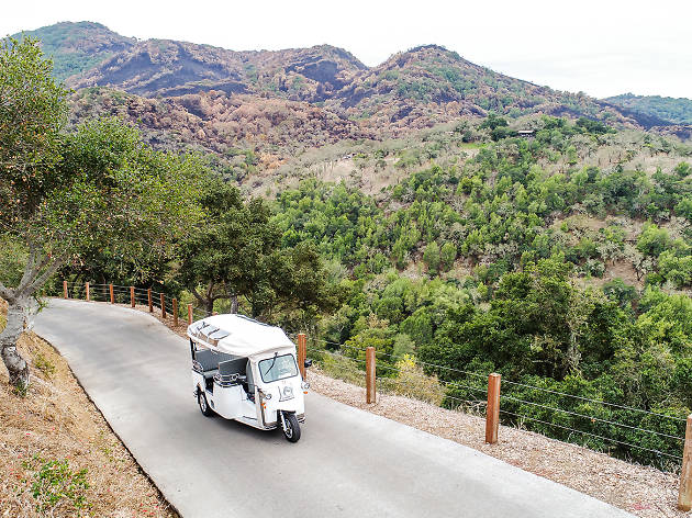 The best new way to tour Wine Country is in a stylish tuk-tuk