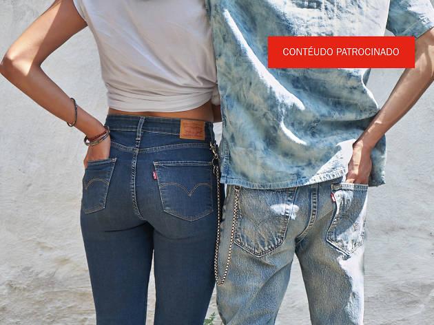 Diz-me por onde andas, dir-te-ei quais Levi's® Taper Jeans usar